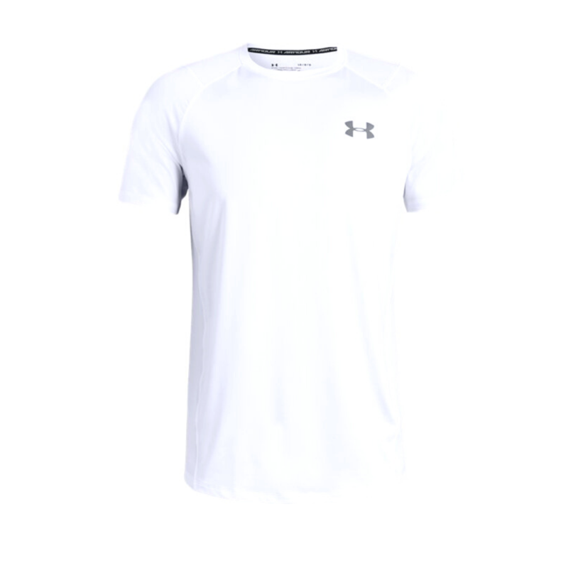 t-shirt-training-under-armour-mk-1-bianco