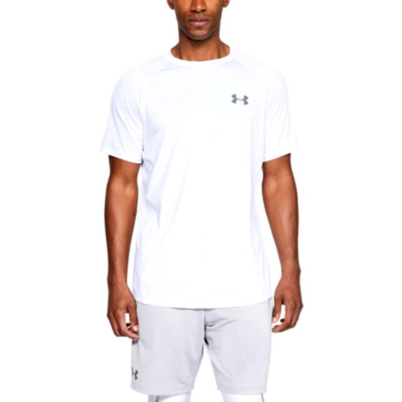 t-shirt-training-under-armour-mk-1-bianco