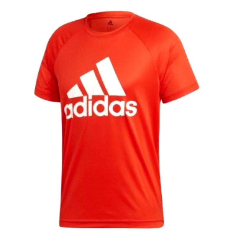 t-shirt-adidas-logo-rosso