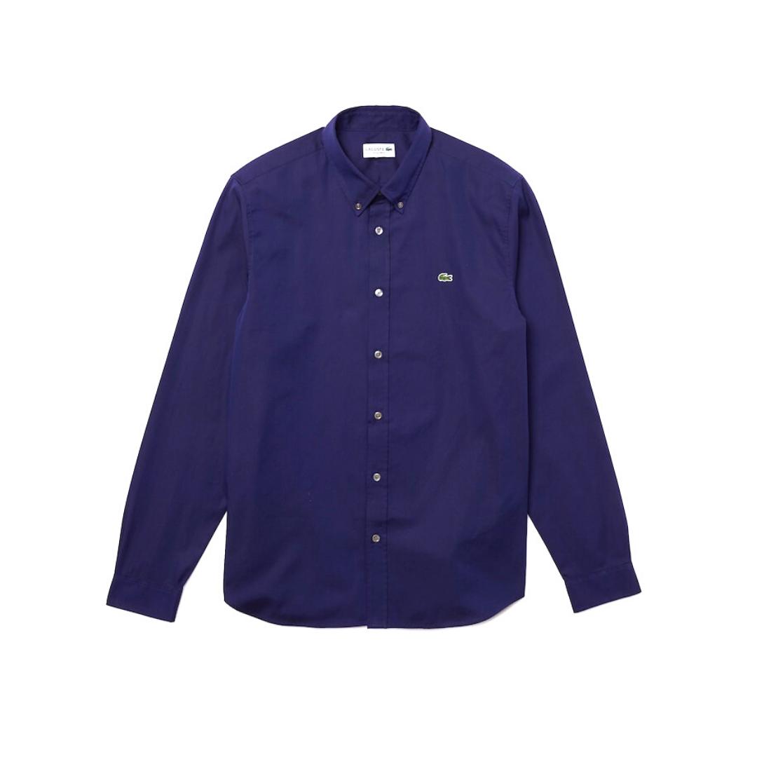 camicia-uomo-slim-fit-blu