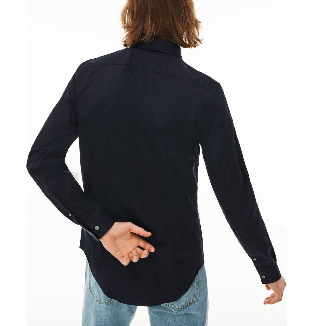 camicia-uomo-slim-fit-lacoste-blu-notte