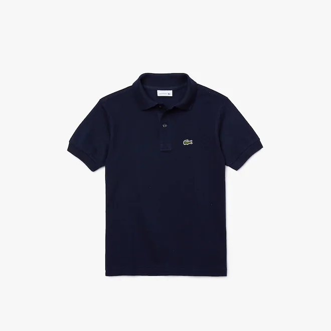 polo-regular-fit-kids-lacoste-tinta-unita-blu